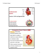 Lecture I CHF and Hypertension [Compatibility Mode]