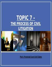 BLAW2205 TOPIC 7pt1 2016-17