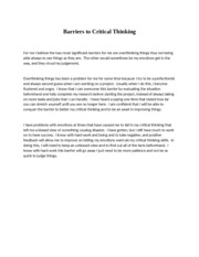 Barriers to Critical Thinking.docx