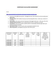 Mortgage Calculator Assignment (1).docx
