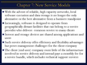 Chapter7- New Service Models - Extended - brief