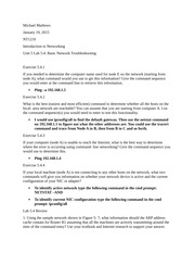 unit 3 lab 3 nt1210 Lab 83 7: troubleshooting role play topology diagram learning objectives x x x x x x x build a network test a network break a network troubleshoot a problem gather symptoms correct the problem document the problem and solution.