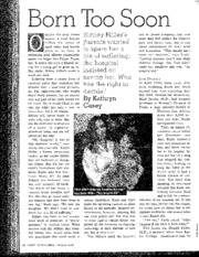 MILLER CASE_Born Too Soon_Kathryn Casey_LHJ 1998