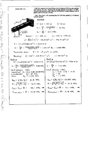 896_Mechanics Homework Mechanics of Materials Solution