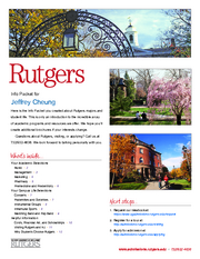 Rutgers Info Packet
