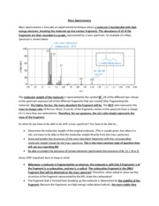 Ch 12 - Mass Spectrometry guide