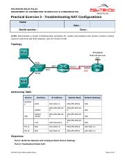 Std_Practical Exercise 3 - Troubleshooting NAT Configurations (2)