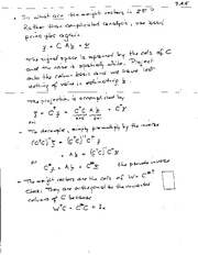 ECE 345 Pseudo Inverse Means Notes