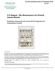 S.T.Dupont - The Renaissance of a French Luxury Brand.pdf