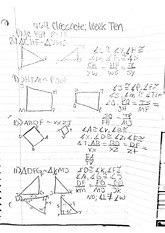 math classnote: Quadrilateral Proofs