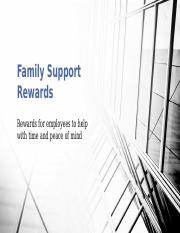 Family Support Rewards PP