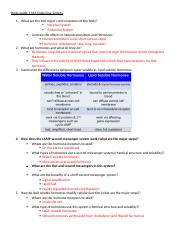 Study guide Ch 16 The Endocrine System.docx
