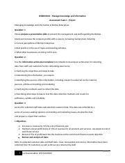 BSBINM601 - Manage knowledge and information 2.docx