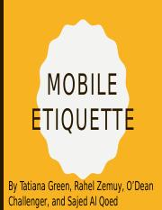 MOBILE ETTIQUETTE Presentation1.pptx