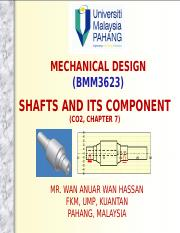 Lecture Note C02 - Chapter 7 - Shafts.pptx