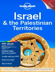 Israel palestinian territories 8 full pdf ebookpdf f pd israel this is the end of the preview sign up to access the rest of the document fandeluxe Gallery