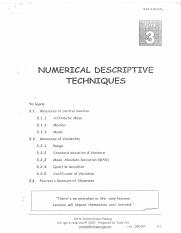 ch 3 numerical descriptive techniques