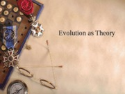 Evolution as Theory
