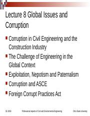 Lecture+8+CE+2090+Global+Issues