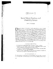 class 4_social work practice and disability issues