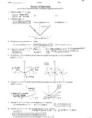 Quick Quiz 3.2 with solutions
