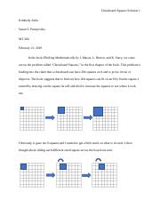 Chessboard Squares Chp 1 Problem analysis paper.docx