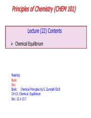 Lectures+22-Chemical+Equilibria