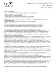 Government Analysis and Notes 4