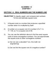 ALG 1-3 Real Numbers and the Number Line.pdf