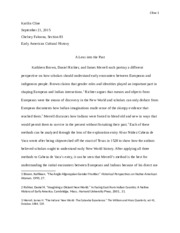 KCline Early American Cultural History Paper 1.docx