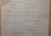 Lecture on Indeterminate Functions and L'Hopitals Rule