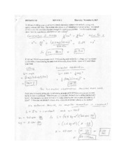 Test 7 Solutions