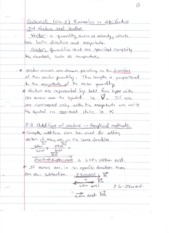 Notes Ch3 Kinematics 2D