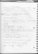 Lecture 19 Notes