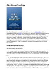 Blue Ocean Strategy synopsis.doc