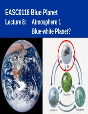 Lecture 8 Atmosphere 1 Oct 2016.ppt