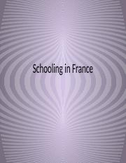 Schooling in France.pptx