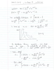 Phys 203 Probability Distribution Review Question Solutions.