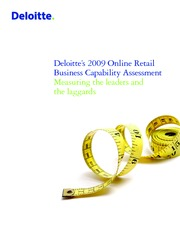 deloitte 2009 retail business assessment