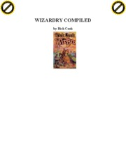 Cook, Rick - Wizardry 1 - Wizardry Compiled
