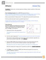 Diffusion.pdf - Diffusion Answer Key Vocabulary absolute ...
