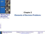 Chapter 2 Elements of Decision Problems