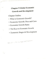 Ch 9 Notes (ECON E-202; Introduction to Macroeconomics; Wenyi Shen)