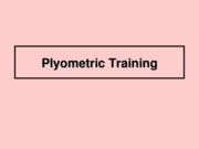 12 - Plyometric Training