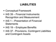 ACCT2004, Lecture Slides for Chapter 13, Liabilities