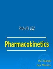 L1 pharmacokinetics