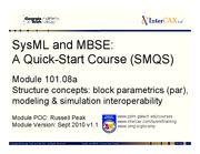 Lecture12a_SMQS_Module_101.08a_Structure_Blocks_and_Parametrics_v1.1