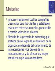Marketing 1 clase intro. .ppt