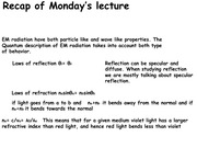 Lecture 16 Notes