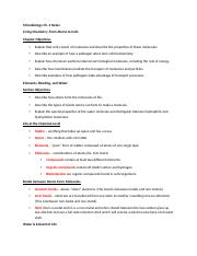 Microbiology Ch. 4 Notes .docx